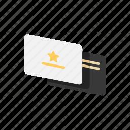 card, ellite, vip icon