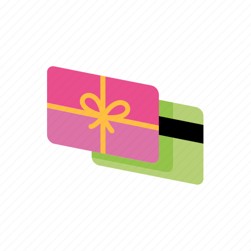 card, gift, shopping icon