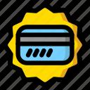 bonus, card, coupon icon