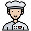 chef, cook, cuisine, job, uniform
