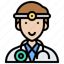 doctor, hospital, medication, physician, therapist icon