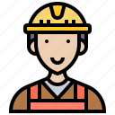 construction, contractor, engineer, labor, worker icon