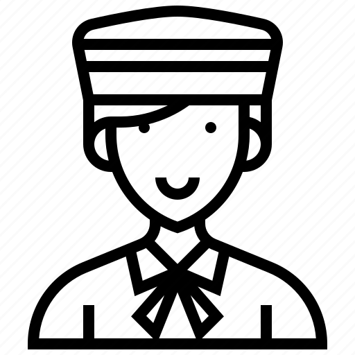 assistant, bellboy, hotel, service, staff icon