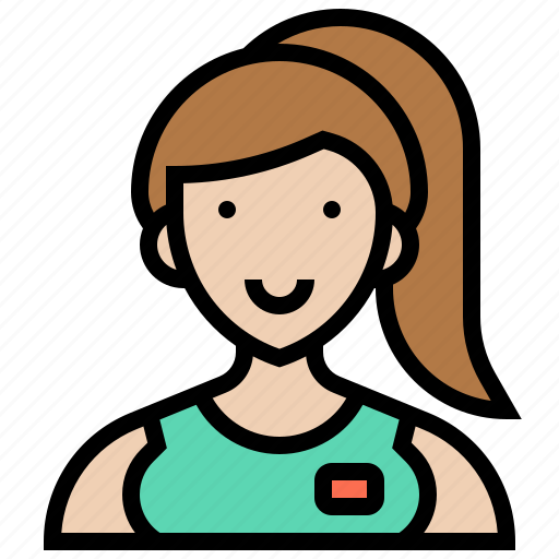assistant, caregiver, healthcare, professional, service icon