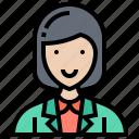 business, coordinator, manager, staff, woman