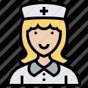 assistant, hospital, medical, nurse, professional icon