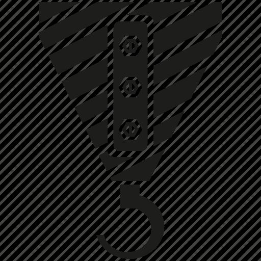 crane, hang, hook icon