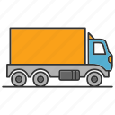 car, cargo, delivery, shipping, transport, truck, vehicle icon