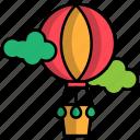 balloon, carnival, circus, festival