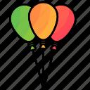 balloons, carnival, circus, festival