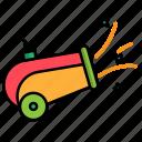 cannon, carnival, circus, festival icon