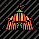 carnival, circus, festival, tent