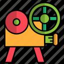camera, carnival, festival, video icon