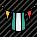 garlands, carnival, festival, party, flag