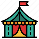 tent, circus, carnival, show, festival