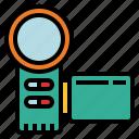 video, recorder, camera, recording, interface, ui