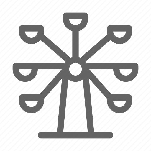 Amusement, ferris, park, wheel icon - Download on Iconfinder