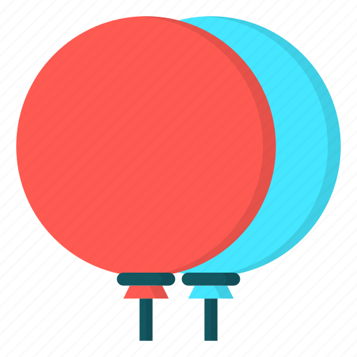 amusement, baloon, carnival icon