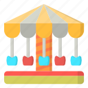 amusement, carnival, carousel, ride icon
