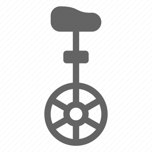 carnival, circus, festival, unicycle icon