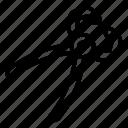 bolt pliers, diagonal pliers, needle pliers, screw pliers, wire pliers icon