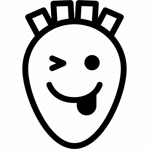 Emoji, emotion, expression, face, feeling, naughty icon - Download on Iconfinder