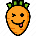 emoji, emotion, expression, face, feeling, naughty