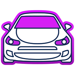 auto, car, ford, transport, travel icon