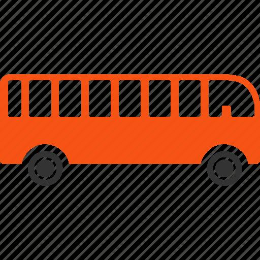 tourist bus, transport, transportation, travel, trip, van, vehicle icon