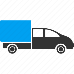 automobile wagon, cargo, delivery, shipping, transport, transportation, vehicle icon