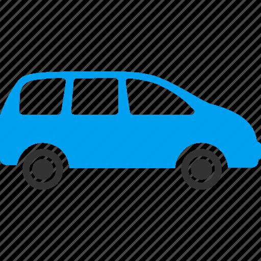 automobile, car, machine, minivan, transfer, van, vehicle icon