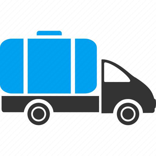 deliver, delivery, shipping, tank truck, transport, transportation, vehicle icon