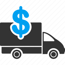 banking, costs, delivery cost, financial, money transfer, shipping, transportation icon