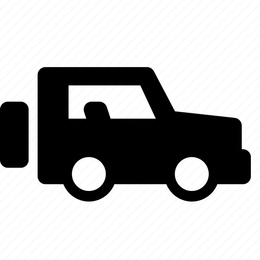 jeep, oversized, transportation, travel, truck, vehicle, wheels icon