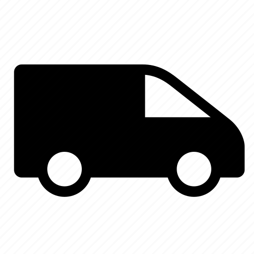 commercial va, drining, transportation, travel, van, vehicle, wheels icon
