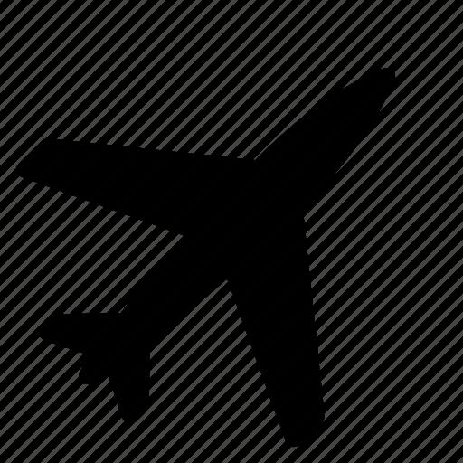 airplane, flight, flying, plane, transportation, travel, vehicle icon