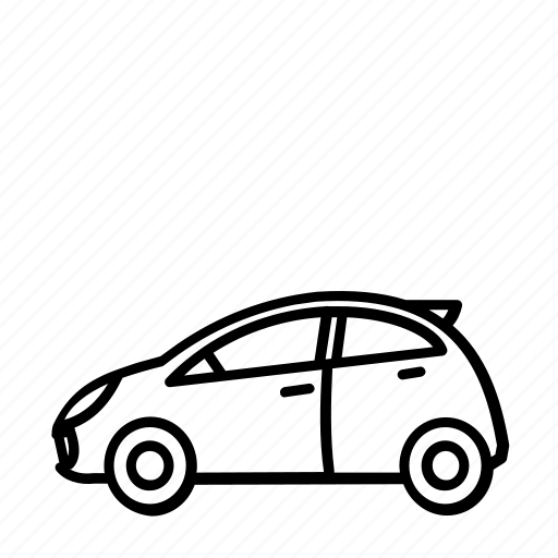 car, compact icon