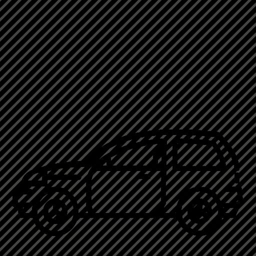 car, small, suv icon