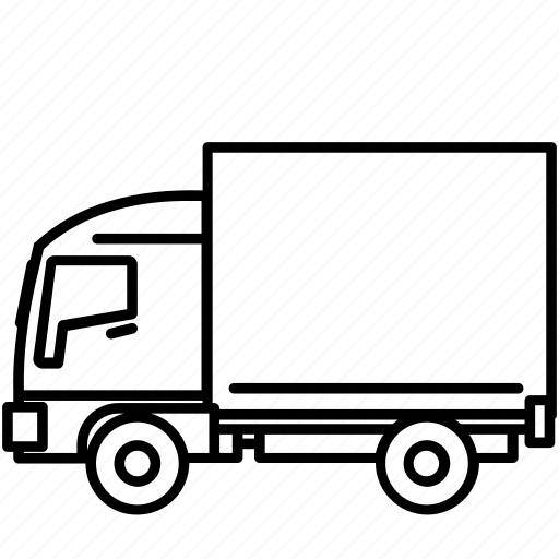 delivery, move, small, transport, truck icon