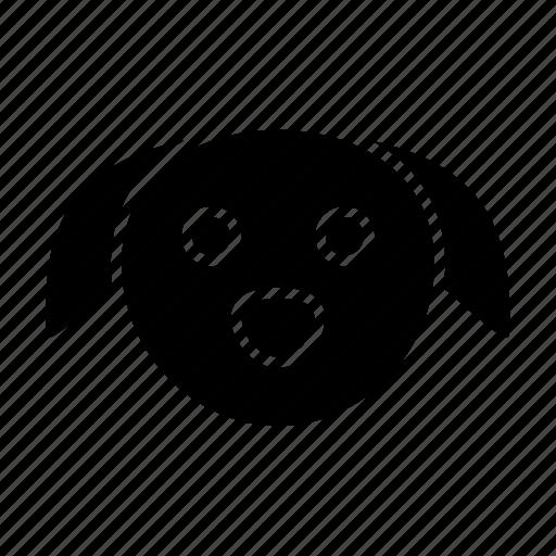 animal, cartoon, children, dog, kids, puppy icon