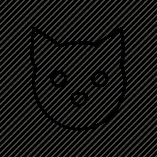 animal, cartoon, cat, children, kids, kitty, pussy icon