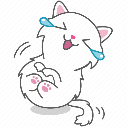 cartoon, cat, character, emoji, emoticon, kitty, lol icon