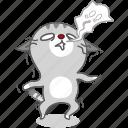 cartoon, cat, character, energy, kitten, kitty, no icon