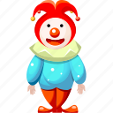 cartoon character, cartoon clown, cartoon people, clown icon