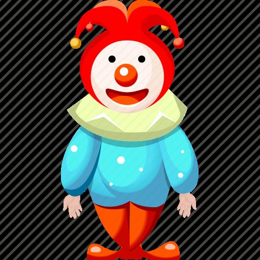 cartoon character, cartoon clown, cartoon people, clown icon
