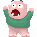 cartoon character, cartoon monster, cartoon people, monster icon