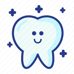 character, dental, dentist, medical, molar, tooth, white tooth icon