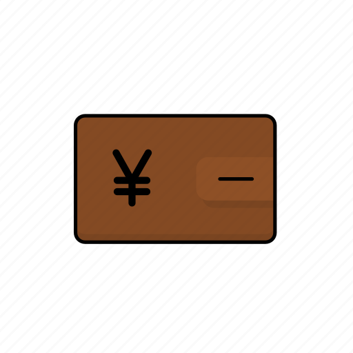 business, cash, jpy, money, wallet icon