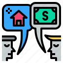 business, commercial, estate, financial, property icon