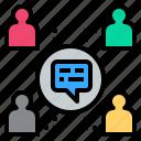 community, network, social, society, talk